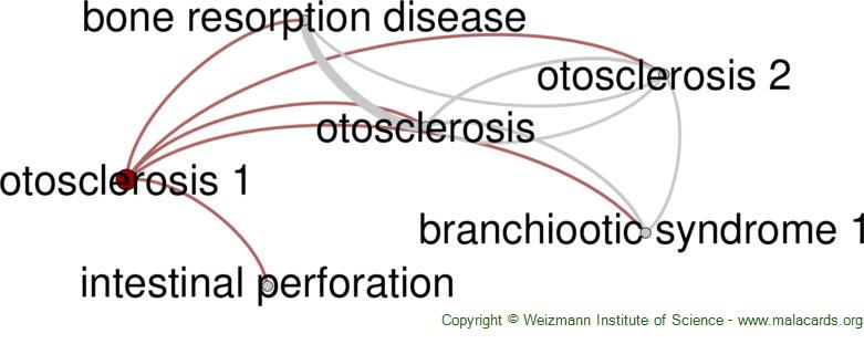 Diseases related to Otosclerosis 1