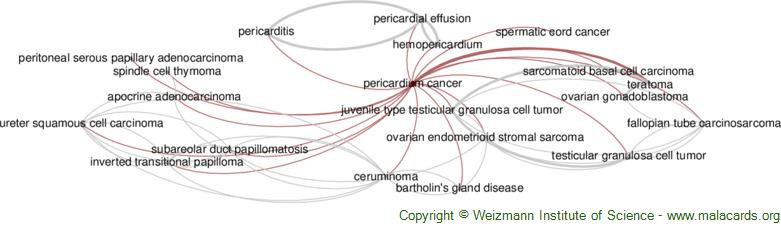 Diseases related to Pericardium Cancer