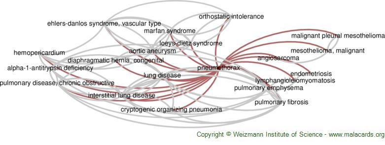 Diseases related to Pneumothorax