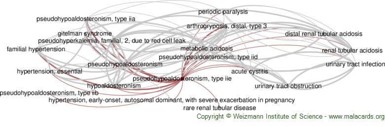 Diseases related to Pseudohypoaldosteronism, Type Iie