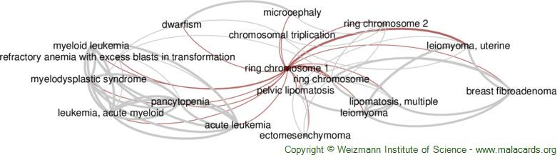 Diseases related to Ring Chromosome 1