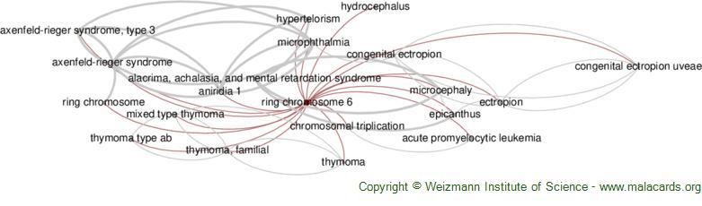Diseases related to Ring Chromosome 6