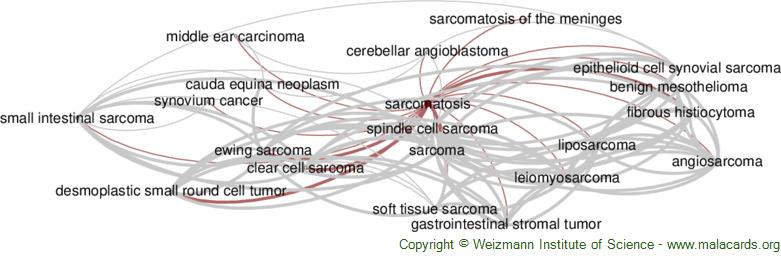Diseases related to Sarcomatosis