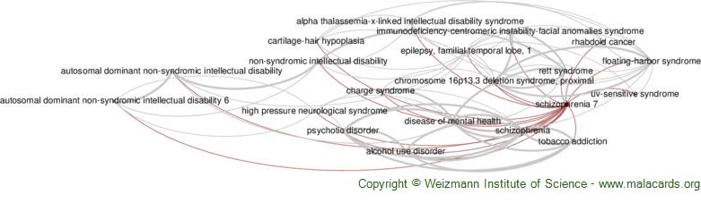 Diseases related to Schizophrenia 7