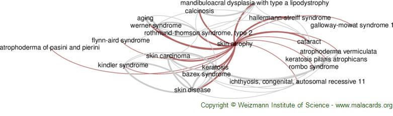 Diseases related to Skin Atrophy