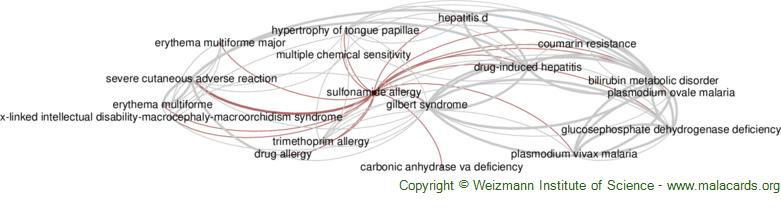 Diseases related to Sulfonamide Allergy