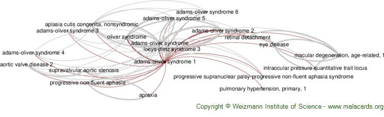 Diseases related to Adams-Oliver Syndrome 1