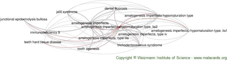 Diseases related to Amelogenesis Imperfecta, Hypomaturation Type, Iia2