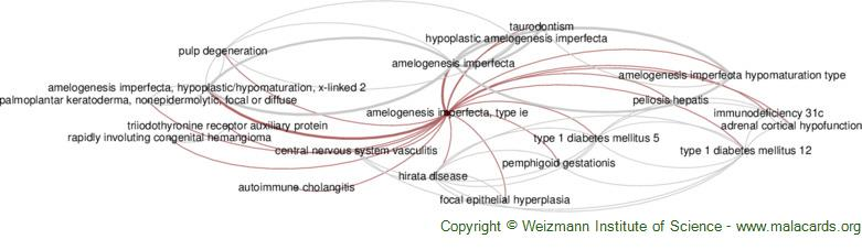 Diseases related to Amelogenesis Imperfecta, Type Ie