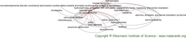 Diseases related to Au-Kline Syndrome