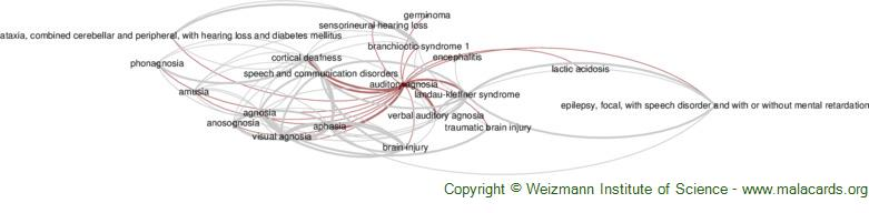 Diseases related to Auditory Agnosia