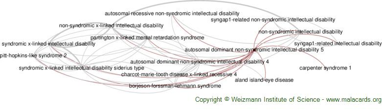 Diseases related to Autosomal Dominant Non-Syndromic Intellectual Disability 5