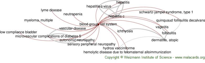 Diseases related to Blood Group, Vel System