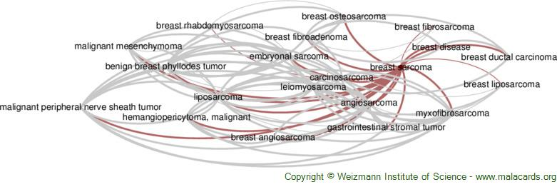 Diseases related to Breast Sarcoma