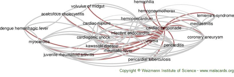 Diseases related to Cardiac Tamponade