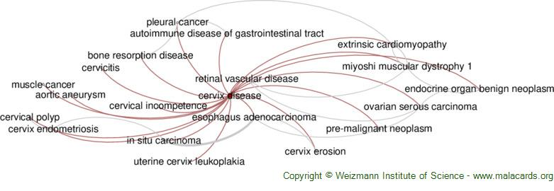 Diseases related to Cervix Disease