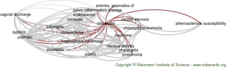 Diseases related to Chlamydia