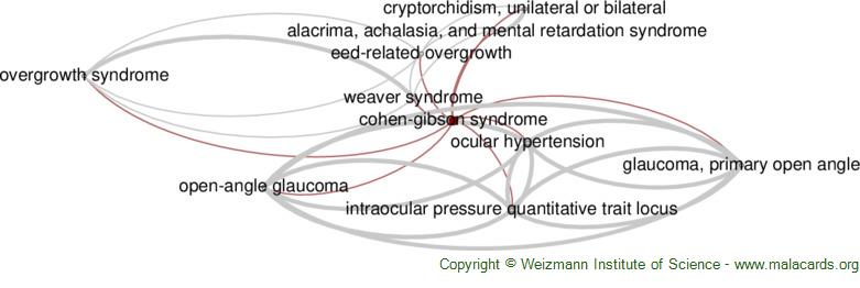 Diseases related to Cohen-Gibson Syndrome