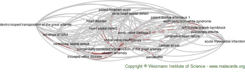 Diseases related to Congenitally Corrected Transposition of the Great Arteries