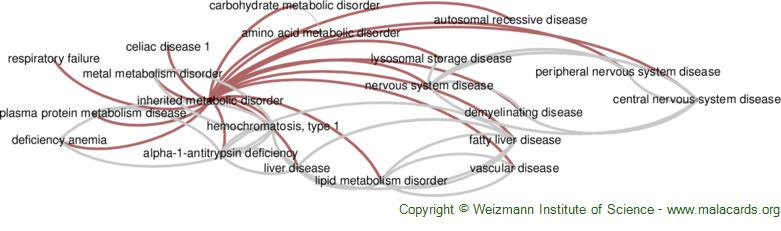 Diseases related to Inherited Metabolic Disorder