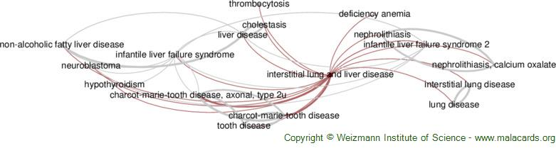 Diseases related to Interstitial Lung and Liver Disease