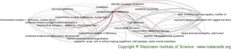 Diseases related to Isolated Complex Iii Deficiency