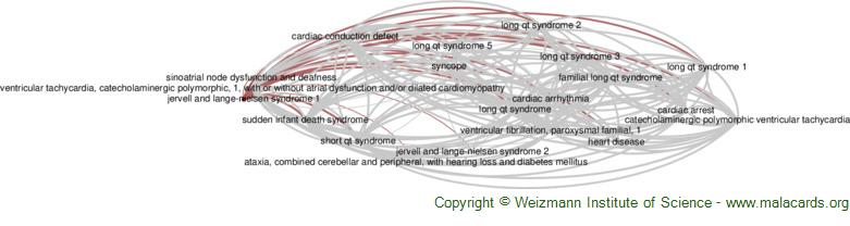Diseases related to Jervell and Lange-Nielsen Syndrome 1