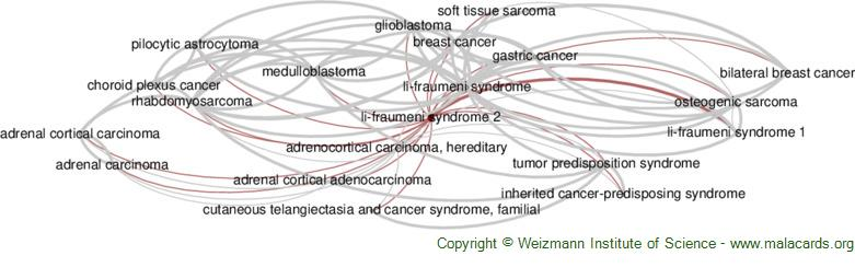 Diseases related to Li-Fraumeni Syndrome 2