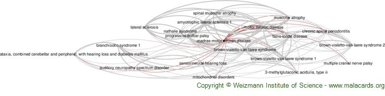 Diseases related to Madras Motor Neuron Disease
