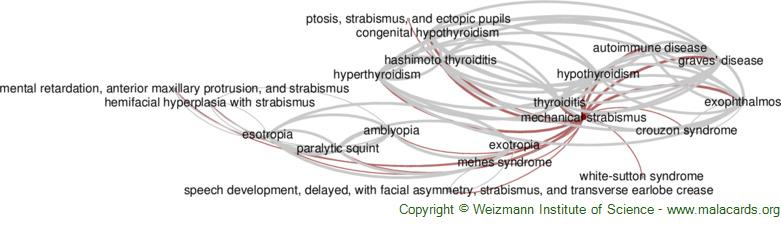 Diseases related to Mechanical Strabismus