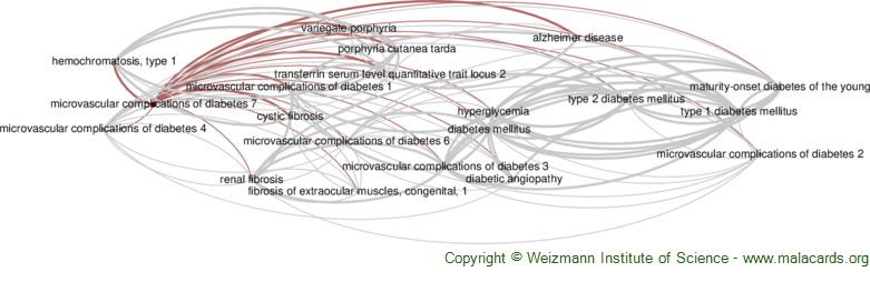 Diseases related to Microvascular Complications of Diabetes 7