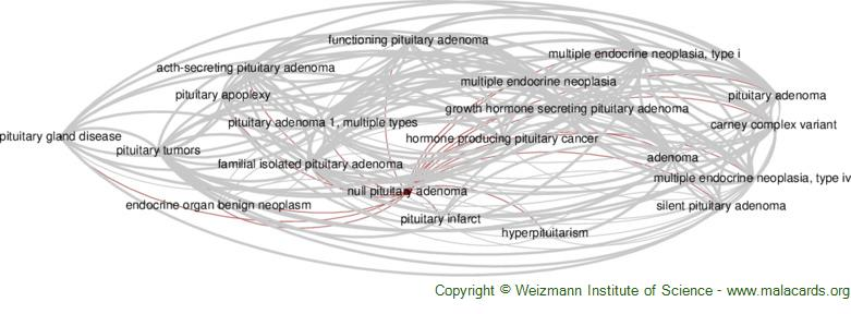 Diseases related to Null Pituitary Adenoma