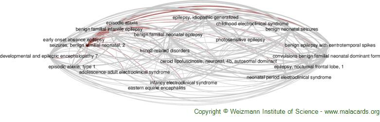 Diseases related to Seizures, Benign Familial Neonatal, 2
