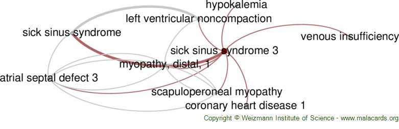 Diseases related to Sick Sinus Syndrome 3