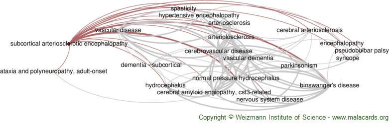 Diseases related to Subcortical Arteriosclerotic Encephalopathy