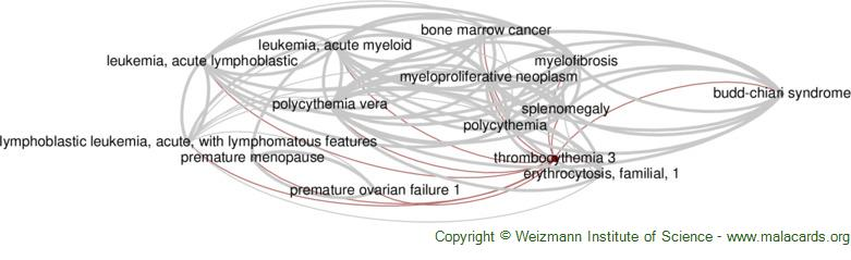Diseases related to Thrombocythemia 3
