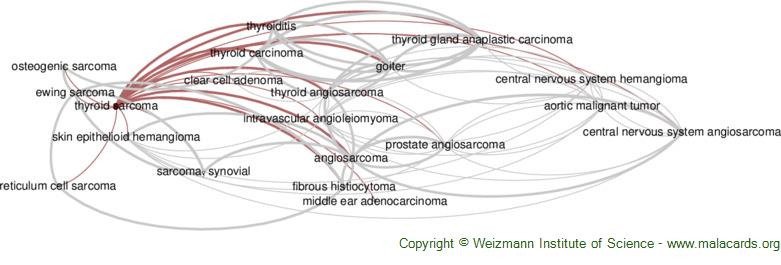 Diseases related to Thyroid Sarcoma
