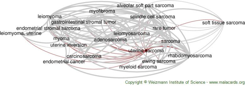 Diseases related to Uterine Sarcoma